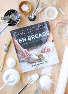Book Giveaway / One Dough, Ten Breads: Making Great Bread by Hand // FoodNouveau.com