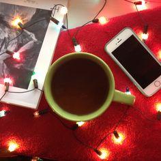 #Герлянда#чай#айфон#iphone#журнал#плед#предметнаясъёмка