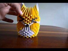 3D ORIGAMI FOX - YouTube