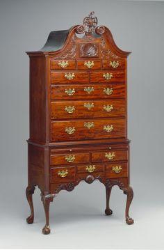 high chest, Philadelphia, 1750–65 - Art & Antiques