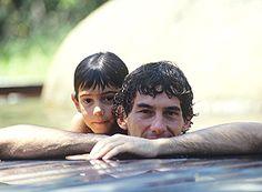 Bruno Senna e Ayrton Senna  Bruno, segue em frente. Você está crescendo! Sucesso!