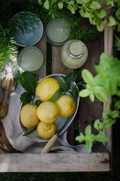 Homemade lemonade | Limonada Casera {receta fácil} | http://saboresymomentos.es