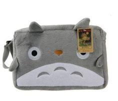 NEW My Neighbor Totoro Plush Shoulder Messenger Hand Bag Purse