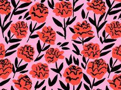 we love leah goren's floral pattern | ban.do
