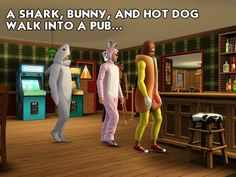 The Sims 3 Humor! Follow the official The Sims Facebook pages for more pics :D