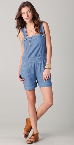 Cute and easy for summer!  MiH Shortie Romper