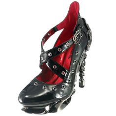 Crow Steampunk Heels - FW3050 by Medieval Collectibles