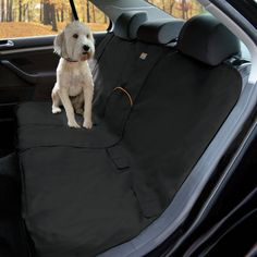 Waterproof dog seat cover that protects your car seats from dog hair, muddy paws, and slobber. The Kurgo Bench Seat Cover is covered by a Lifetime Warranty Bench Seat Covers, Pet Car Seat Covers, Dog Car Seats, Waterproof Car Seat Covers, Seat Protector, Doja Cat, Doge, Dog Training, Training Collar