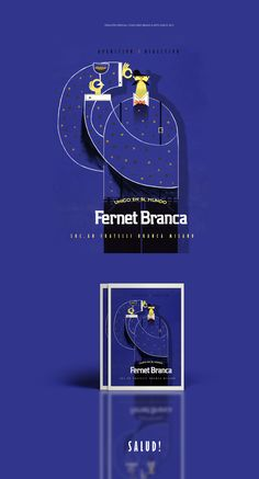 Afiche realizado para el concurso de Arte Único de Fernet Branca 2015. Poster made for Fernet Branca Unique Arts 2015. contest