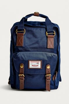 cdc38a1d7676 Doughnut Macaroon Navy Backpack