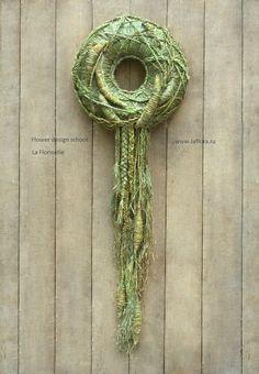 Workshop Design, Summer Design, Fiber Art, Wind Chimes, Flower Arrangements, Garland, Grass, Floral Design, Wreaths
