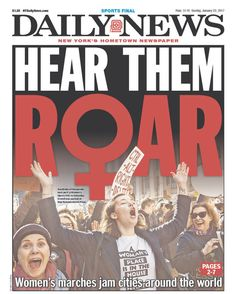 New York Daily News (US) | Here's How Newspapers Around The World Covered The Women's March