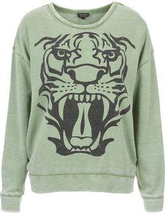 Printed Sweatshirt - Lyst