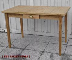 mesa de campo madera reciclada