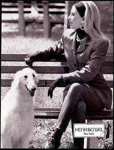 Henri Bendel Fashion Russian Borzoi Wolfhound (1990)