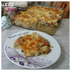 Fırında Bol Sebzeli Graten (Hiç Kızartmadan) Lasagna, Quiche, Breakfast, Ethnic Recipes, Food, Morning Coffee, Essen, Quiches, Meals