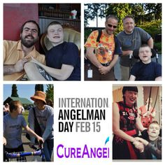 International Angelman Day  February 15th 2014 Angelman Syndrome, February 15, Things To Think About, Baseball Cards, Sports, People, Hs Sports, Sport, People Illustration
