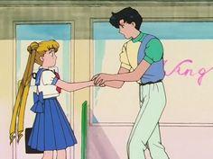 Usagi & Mamoru Sailor Moon S Sailor Moons, Sailor Moon Usagi, Sailor Pluto, Sailor Moon Art, Sailor Venus, Sailor Moon Episodes, Sailor Moon Screencaps, Sailor Moon Aesthetic, Aesthetic Anime