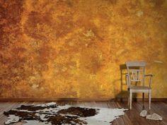 stein tapete steinoptik schiefer kupfer metallic online. Black Bedroom Furniture Sets. Home Design Ideas