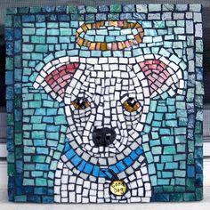 Good Dog Mosaic by jillbeninato, via Flickr