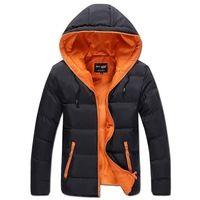2015 moda de invierno recién llegado delgado y ligero del deporte de hombre abrigo acolchada chaqueta de hombre otoño prendas de abrigo capa ocasional