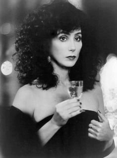 My dream hairstyle - Cher in Moonstruck