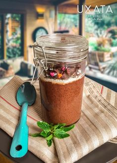 Private Chef Cancun & Riviera Maya Coconut Chia Pudding, Chocolate Chia Pudding, Vegan Dark Chocolate, Organic Cacao Powder, Food Names, Personal Chef, Meatless Monday, Cravings, Private Chef