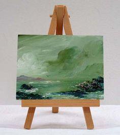 Valda Fitzpatrick Ocean during Storm absolutearts.com