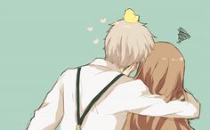 Prussia and Hungary...OH MY GOSH THEY'RE SO FRICKEN CUTE I JUST CAN'T