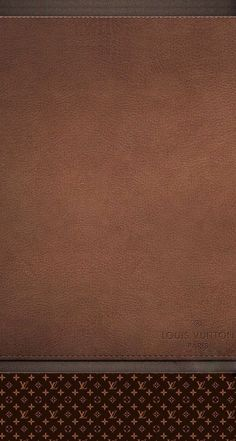Brown Leather Louis Vuitton Wallpaper