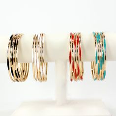 Fabulous colors. Wear together or mix and match!