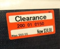 Target Clearance Schedule