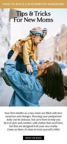 Your first months as a new mom are filled with love, surprises and changes. Even if you've read all the books and blogs, you will face unexpected challenges. #postpartumoutfits #postpartumlooks #ootdinspo #ootd #stylisttips #fasion #trends #newmomoutfits #newmom