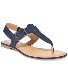 Style&co. Rachael Flat Thong Sandals Leather Sandals Flat, Leather Slippers, Men's Slippers, Sandals Outfit, Women's Shoes Sandals, Shoe Boots, Cute Teen Shoes, Ella Shoes, Gold Wedding Shoes
