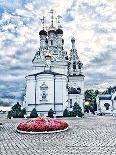 Church. Kaliningrad region, Russia. August 2016.
