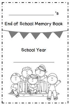 "FREE LESSON - ""End of School Memory Book"" - Go to The Best of Teacher Entrepreneurs for this and hundreds of free lessons.  Kindergarten - 2nd Grade  #FreeLesson   #TeachersPayTeachers  http://www.thebestofteacherentrepreneurs.net/2014/06/free-misc-lesson-end-of-school-memory.html"