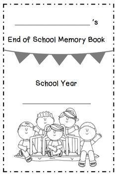 "FREE LESSON - ""End of School Memory Book"" - Go to The Best of Teacher Entrepreneurs for this and hundreds of free lessons.  Kindergarten - 2nd Grade  #FreeLesson   #TeachersPayTeachers  http://www.thebestofteacherentrepreneurs.net/2014/06/free-misc-lesson-end-of-school-memory.html"