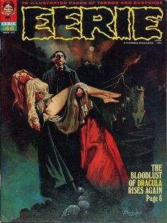 creepy comics covers | It is said that Forest Ackerman (Famous Monsters) had a hand in ...