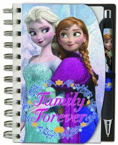 Disney Frozen holográfica Cuaderno y pluma conjunto Sólo $ 5.14 ENVIADO!