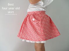 la inglesita: La mejor falda para cuatroañeras :: Best four year old skirt