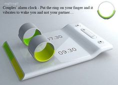 Couples alarm clocks