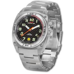 MTM Silver Falcon watch: bright guy