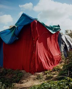 Photographer Harley Weir documents the domestic spaces of Calais' migrant camps.