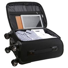 NHL Mojo Carry-On Spinner Luggage, Tampa Bay Lightning