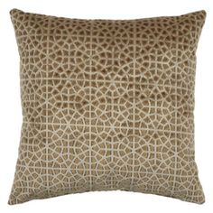 "Alston Pillow 24"" - Gold from Z Gallerie"