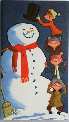 Vintage Christmas Card by leifpeng, via Flickr