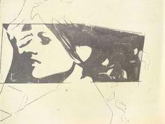 Giosetta Fioroni's Beautiful Hand-Rendered Artwork