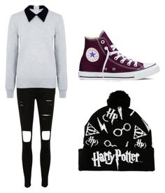 """""""Untitled #29"""" by abbylexus on Polyvore featuring Edit, Converse, women's clothing, women, female, woman, misses and juniors"""