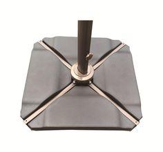 Amazon.com : Abba Patio Plastic Umbrella Base Plate Set for Cantilever Offset Umbrella in Black : Patio, Lawn & Garden