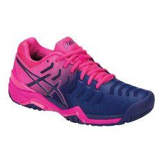 b69141fefe85 Women s ASICS GEL-Resolution 7 Tennis Shoe - Blue Print Blue Print Tennis  Shoes